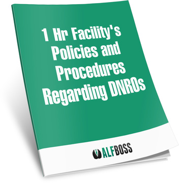 1 Hr Facility's Policies and Procedures Regarding DNRO's