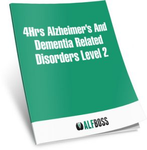 4Hrs Alzheimer's Level II